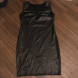 Dresses & Skirts - Faux leather LBD